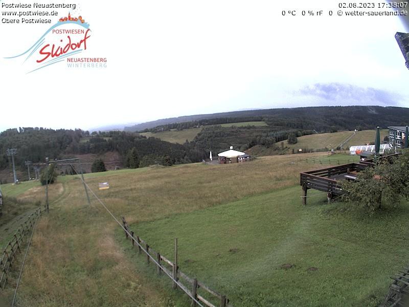 Postwiesen-Skidorf Neuastenberg - Webcam 1