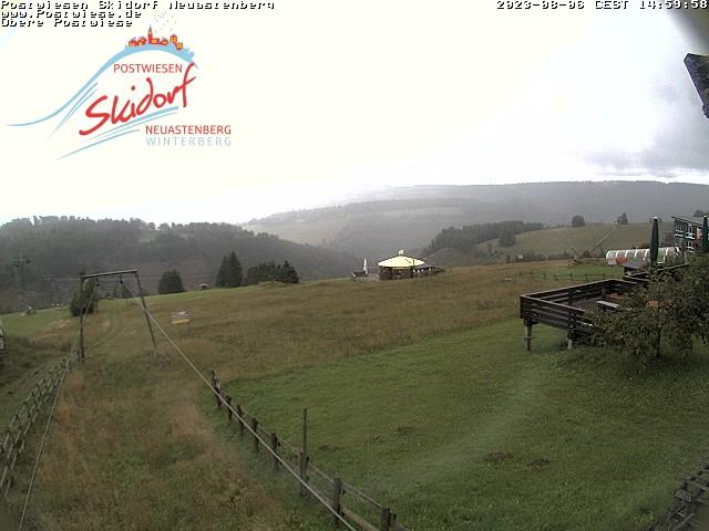 Webcam Skigebiet Neuastenberg - Postwiese obere Postwiese - Sauerland