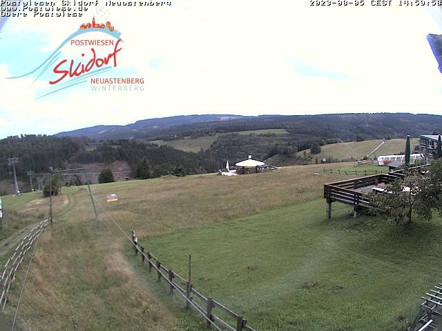 Webcam Ski Resort Neuastenberg - Postwiese Sauerland