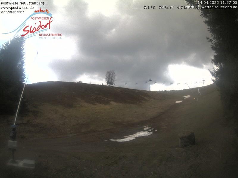 Postwiesen-Skidorf Neuastenberg - Webcam 5