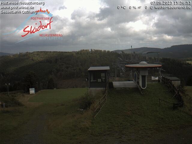 Postwiesen-Skidorf Neuastenberg - Webcam 2