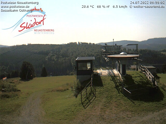 Webcam Obere Postwiese Sommer