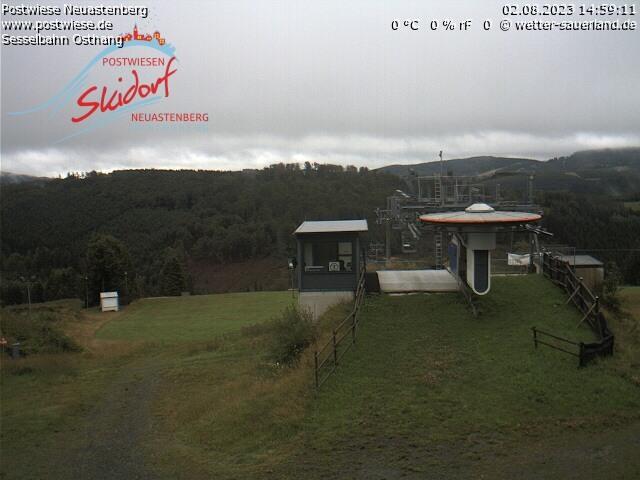 Webcam Skigebiet Neuastenberg - Postwiese Funpark - Sauerland