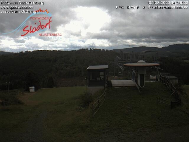 Webcam Skigebied Neuastenberg - Postwiese Funpark - Sauerland