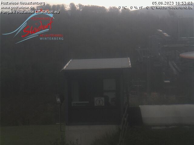 Postwiesen-Skidorf Neuastenberg - Webcam 3