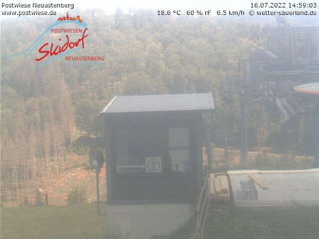 Webcam Skigebiet Neuastenberg - Postwiese Funpark2 - Sauerland