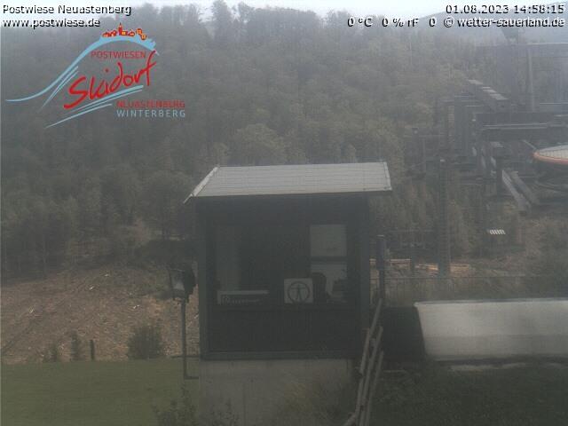 Webcam Ski Resort Neuastenberg - Postwiese Funpark2 - Sauerland