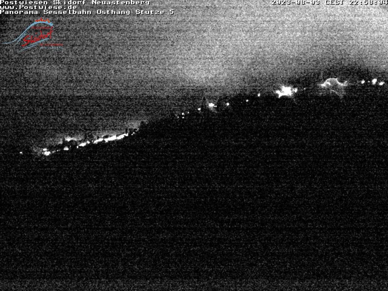 Webcam Skidorf Neuastenberg - Postwiese - Sesselbahn Osthang