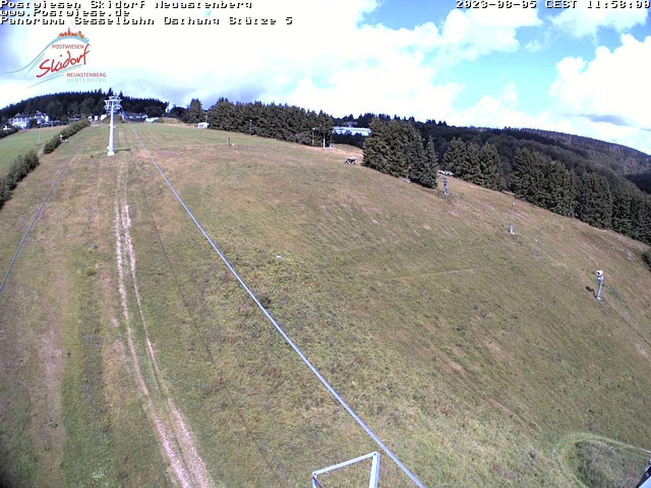 Postwiesen-Skidorf Neuastenberg - Webcam 4